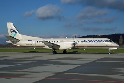 Adria Airways SAAB 2000 S5-AFG (msn 015) ZRH (Rolf Wallner). Image: 944553.