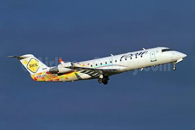 Adria Airways Bombardier CRJ200 (CL-600-2B19) S5-AAD (msn 7166) (SiOL) ARN (Stefan Sjogren). Image: 904300.