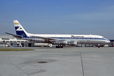 AVIACO McDonnell Douglas DC-8F-54 Jet Trader EC-CQM (msn 45668) ORY (Jacques Guillem Collection). Image: 950670.