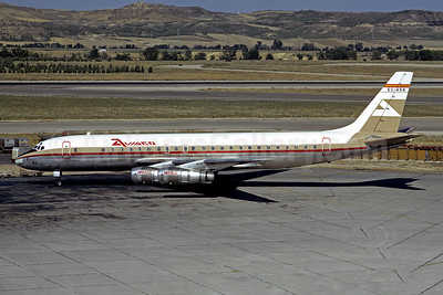 AVIACO-Iberia McDonnell Douglas DC-8-52 EC-ASN (msn 45659) MAD (Jacques Guillem Collection). Image: 952558.
