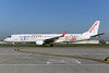 Air Europa Express (2nd) Embraer ERJ 190-200LR (ERJ 195) EC-LFZ (msn 19000357) (25th Anniversary - Fora de Joc - Channel 4) BRU (Ton Jochems). Image: 939432.