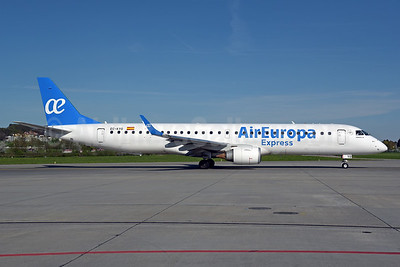 Air Europa Express (2nd) Embraer ERJ 190-200LR (ERJ 195) EC-KYO (msn 19000276)ZRH (Rolf Wallner). Image: 941642.