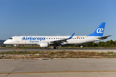 Air Europa Express (2nd) Embraer ERJ 190-200LR (ERJ 195) EC-LKM (msn 19000425) PMI (Ton Jochems). Image: 942575.