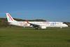 Air Europa Express (2nd) Embraer ERJ 190-200LR (ERJ 195) EC-LFZ (msn 19000357) (25th Anniversary - Fora de Joc - Channel 4) ZRH (Rolf Wallner). Image: 939549.