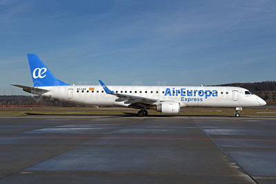 Air Europa Express (2nd) Embraer ERJ 190-200LR (ERJ 195) EC-LEK (msn 19000344) ZRH (Rolf Wallner). Image: 945643.