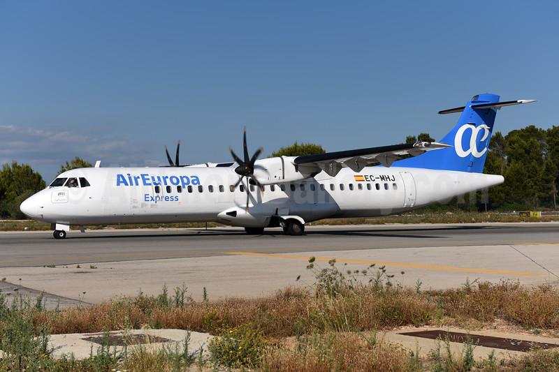 Air Europa Express (2nd) ATR 72-212A (ATR 72-500) EC-MHJ (msn 982) PMI (Ton Jochems). Image: 942574.