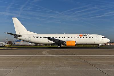 Air Horizont Boeing 737-484 9H-MPW (msn 25417) BRU (Ton Jochems). Image: 943824.