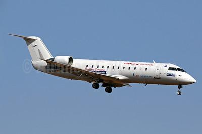 "Air Nostrum-Iberia Regional Bombardier CRJ200 (CL-600-2B19) EC-MJE (msn 7622) ""Perpinan y Carcasona"" PMI (Javier Rodriguez). Image: 934193."