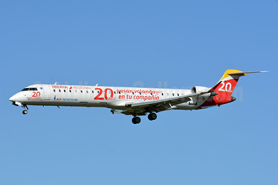 Air Nostrum's 20th Anniversary logo jet