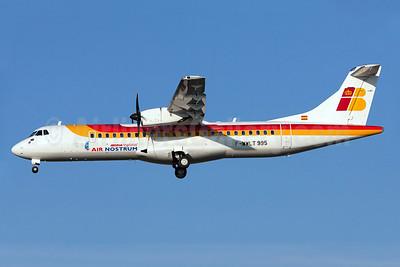Air Nostrum-Iberia Regional ATR 72-212A (ATR 72-600) F-WWLT (EC-LQV) (msn 995) TLS (Clement Alloing). Image: 908079.