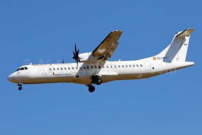 Air Nostrum-Iberia Regional ATR 72-212A (ATR 72-600) EC-NFT (msn 1198) PMI (Javier Rodriguez). Image: 950786.
