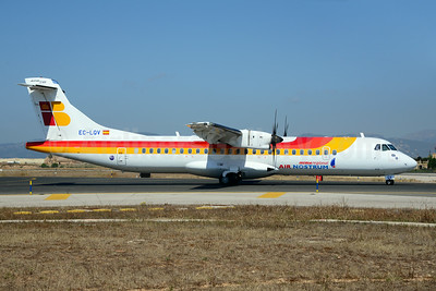 Air Nostrum-Iberia Regional ATR 72-212A (ATR 72-600) EC-LQV (msn 995) PMI (Ton Jochems). Image: 920091.