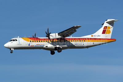 Air Nostrum-Iberia Regional ATR 72-212A (ATR 72-600) EC-LRU (msn 1032) (Ciudad Autonoma de Melilla) MAD (Rolf Wallner). Image: 932859.