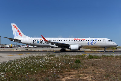 "AirEuropa's ""El Mundo"" promotional livery"