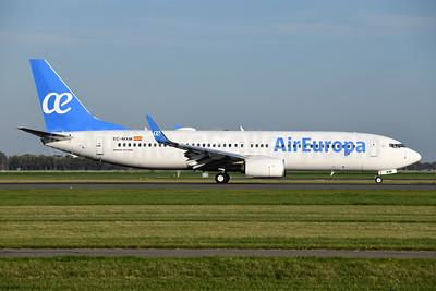 Air Europa Boeing 737-800 WL EC-MXM (msn 60591) AMS (Ton Jochems). Image: 943967.