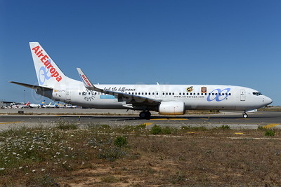 AirEuropa Boeing 737-85P WL EC-LPQ (msn 35496) (Be Live Hotels - Spanish National Football Team) PMI (Ton Jochems). Image: 939415.