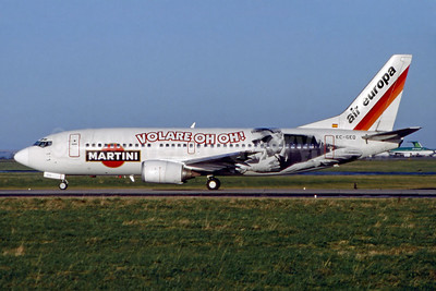 Air Europa's 1998 Martini promotional livery