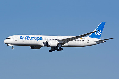 Air Europa Boeing 787-9 Dreamliner EC-MTI (msn 62169) CHS (Mike Cassidy). Image: 941222.