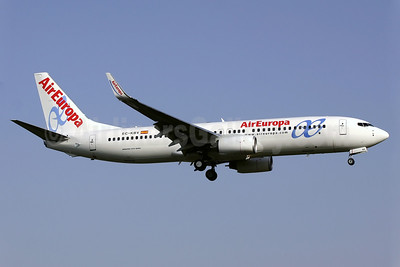 AirEuropa Boeing 737-85P WL EC-KBV (msn 33980) PMI (Javier Rodriguez). Image: 938705.