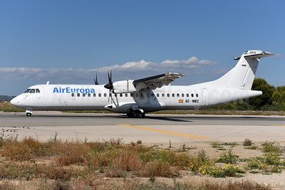 AirEuropa (Swiftair) ATR 72-212A (ATR 72-500) EC-MEC (msn 595) PMI (Ton Jochems). Image: 943148.