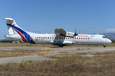AirEuropa (Swiftair) ATR 72-212A (ATR 72-500) EC-LYB (msn 550) (Swiftair colors) PMI (Ton Jochems). Image: 938702.