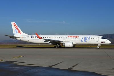AirEuropa Embraer ERJ 190-200LR (ERJ 195) EC-LLR (msn 19000452) (Uruguay - Luis Salom) ZRH (Rolf Wallner). Image: 936029.