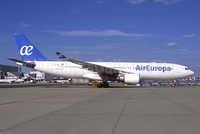 Air Europa Airbus A330-202 EC-KTG (msn 950) MUC (Jacques Guillem Collection). Image: 941641.