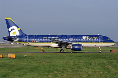 Aircomet (Air Comet) (Spain) Airbus A320-211 EC-KBM (msn 426) LGW (Antony J. Best). Image: 902002.