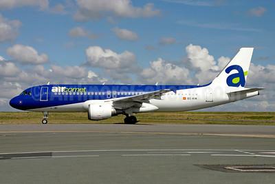 Aircomet (Air Comet) (Spain) Airbus A320-211 EC-KIK (msn 662) (Air Moldova colors) CDG (Christian Volpati). Image: 901316.