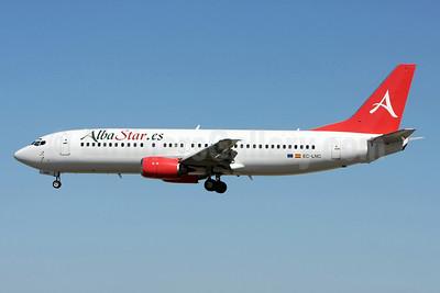 AlbaStar (AlbaStar.es) Boeing 737-4K5 EC-LNC (msn 24130) LIS (Pedro Baptista). Image: 912213.
