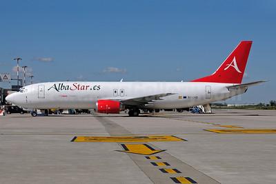 AlbaStar (AlbaStar.es) Boeing 737-4B7 (F) EC-LKB (msn 24559) BLQ (Lucio Alfieri). Image: 912212.