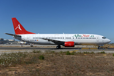 AlbaStar (AlbaStar.es) Boeing 737-4Y0 EC-MFS (msn 25178) PMI (Ton Jochems). Image:  934926.