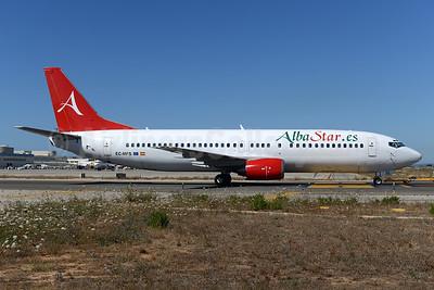Alba Star (AlbaStar.es) Boeing 737-4Y0 EC-MFS (msn 25178) PMI (Ton Jochems). Image:  934926.