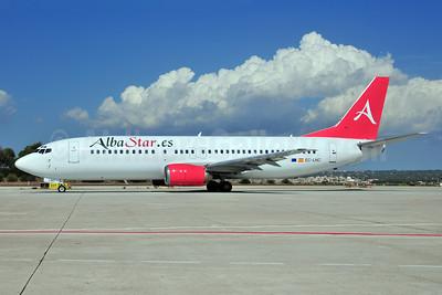 Alba Star (AlbaStar.es) Boeing 737-4K5 EC-LNC (msn 24130) PMI (Ton Jochems). Image: 907055.
