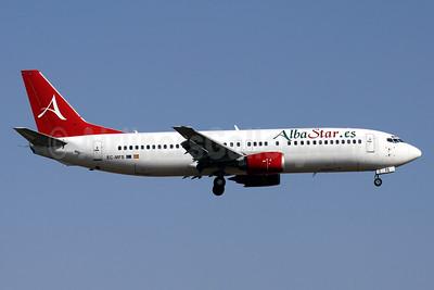 AlbaStar (AlbaStar.es) Boeing 737-4Y0 EC-MFS (msn 25178) PMI (Javier Rodriguez). Image: 929027.