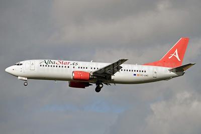 AlbaStar (AlbaStar.es) Boeing 737-4K5 EC-LNC (msn 24130) BRU (Karl Cornil). Image: 921401.