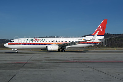 AlbaStar (AlbaStar.es) Boeing 737-81Q WL EC-NAB (msn 29051) (Meridiana colors) ZRH (Rolf Wallner). Image: 945688.
