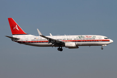 AlbaStar (AlbaStar.es) Boeing 737-81Q WL EC-NAB (msn 29051) (Meridiana colors) ZRH (Andi Hiltl). Image: 945795.