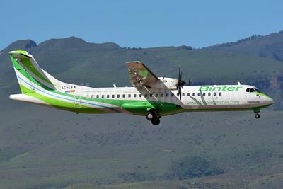 Binter Canarias ATR 72-212A (ATR 72-500) EC-LFA (msn 902) LPA (Paul Bannwarth). Image: 927665.