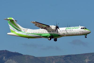 Binter Canarias ATR 72-212A (ATR 72-500) EC-LGF (msn 907) LPA (Paul Bannwarth). Image: 922132.
