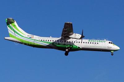 Binter Canarias ATR 72-212A (ATR 72-500) EC-KSG (msn 796) TFS (Paul Bannwarth). Image: 923448.