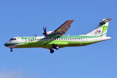 Binter Canarias ATR 72-212A (ATR 72-500) EC-JQL (msn 726) LPA (Paul Bannwarth). Image: 927684.