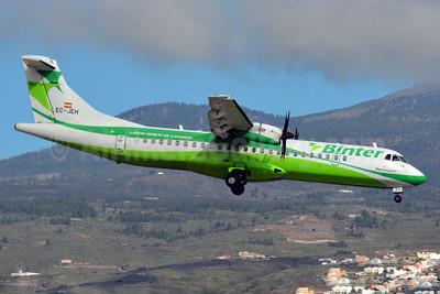 Binter Canarias ATR 72-212A (ATR 72-500) EC-JEH (msn 716) TFS (Paul Bannwarth). Image: 927649.