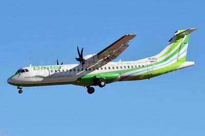 Binter Canarias ATR 72-212A (ATR 72-500) EC-KGJ (msn 753) LPA (Paul Bannwarth). Image: 927663.