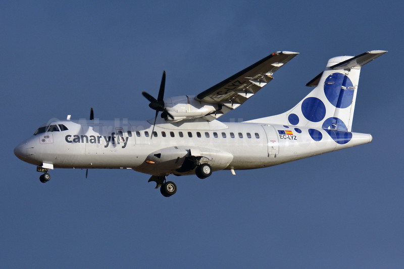 Canaryfly ATR 42-300 EC-LYZ (msn 226) LPA (Paul Bannwarth). Image: 927659.