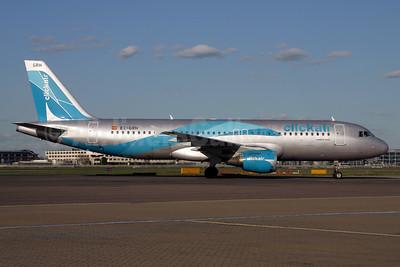 Clickair Airbus A320-211 EC-GRH (msn 146) LHR (SPA). Image: 932833.
