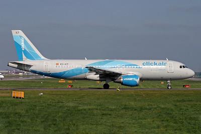 Clickair Airbus A320-211 EC-ICT (msn 264) LGW (Antony J. Best). Image: 900266.