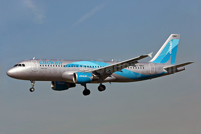 Clickair Airbus A320-211 EC-GRH (msn 146) BCN (Eurospot). Image: 900264.