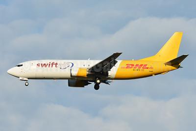 DHL - Swiftair Boeing 737-476 (F) EC-MFE (msn 24445) BSL (Paul Bannwarth). Image: 953992.