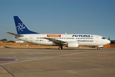 Futura International Airways - Budget Travel Boeing 737-322 N672FH (EC-JUC) (msn 24672) FAO (Ton Jochems). Image: 953684.